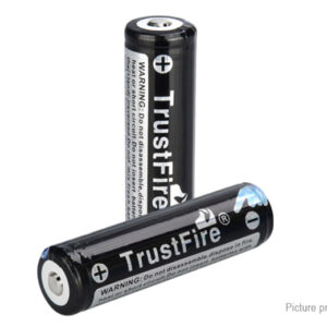 TrustFire TF 18650 3.7V 2600mAh Rechargeable Li-ion Batteries (2-Pack)