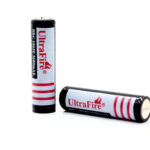 "UltraFire 18650 3.6V ""3600mAh"" Rechargeable Li-ion Batteries (2-Pack)"