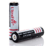 "UltraFire 18650 3.7V ""3600mAh"" Rechargeable Li-ion Batteries (2-Pack)"