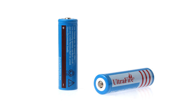 "UltraFire BRC 18650 3.7V ""3600mAh"" Rechargeable Li-Ion Batteries (2-Pack)"