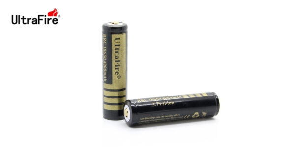 UltraFire BRC 18650 3.7V 4000mAh Rechargeable Li-ion Batteries (2-Pack)
