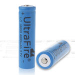 UltraFire INR 18650 3.7V 1000mAh Rechargeable Li-ion Batteries (2-Pack)
