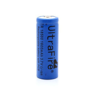UltraFire TR 18500 3.7V 1600mAh Rechargeable Battery