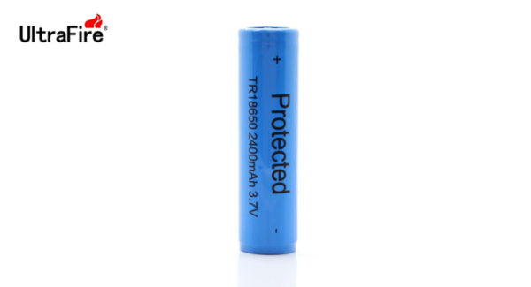 UltraFire TR 18650 2400mAh 3.7V Rechargeable Lithium Battery