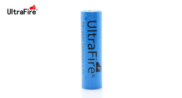 "UltraFire TR 18650 3.7V ""2400mAh"" Rechargeable Li-Ion Battery (1-Pack)"