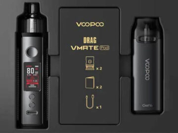 VOOPOO Drag X & Vmate Gift Set Limited Edition Review-Max-Quality image