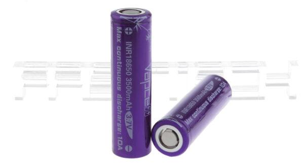 Vapcell 18650 3.7V 3500mAh Rechargeable Li-ion Battery (2-Pack)