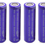Vapcell 18650 3.7V 3500mAh Rechargeable Li-ion Battery (4-Pack)