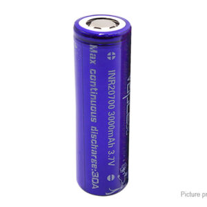 Vapcell 20700 3.7V 3000mAh Rechargeable Li-ion Battery