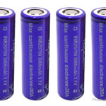 Vapcell 20700 3.7V 3000mAh Rechargeable Li-ion Battery (4-Pack)