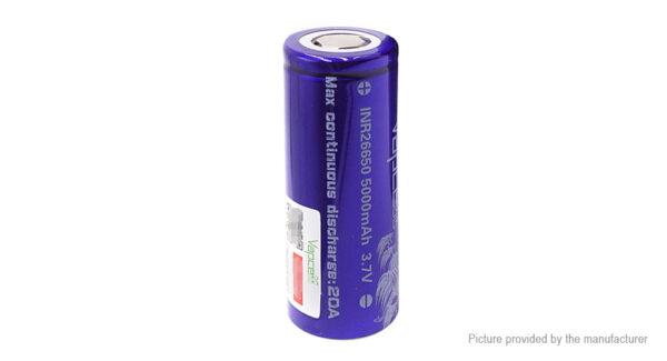 Vapcell 26650 3.7V 5000mAh Rechargeable Li-ion Battery
