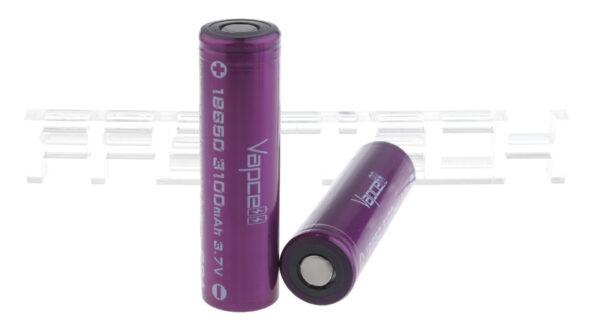 Vapcell IMR 18650 3.7V 3100mAh Rechargeable Li-ion Battery (2-Pack)
