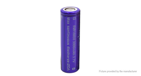 Vapcell INR 18650 3.7V 3000mAh Rechargeable Li-ion Battery