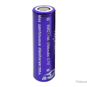 Vapcell INR 21700 3.7V 3100mAh Rechargeable Li-ion Battery