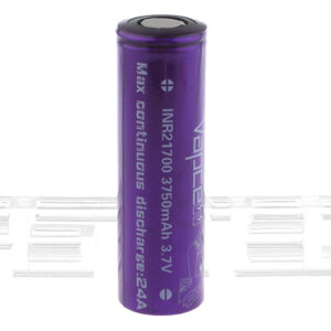 Vapcell INR 21700 3.7V 3750mAh Rechargeable Li-ion Battery