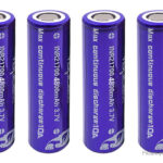 Vapcell INR 21700 3.7V 4800mAh Rechargeable Li-ion Battery (4-Pack)