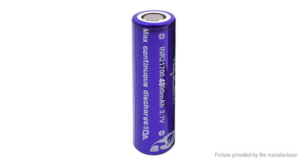 Vapcell INR 21700 3.7V 4800mAh Rechargeable Li-ion Battery