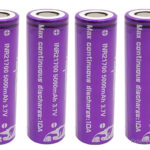Vapcell INR 21700 3.7V 5000mAh Rechargeable Li-ion Battery (4-Pack)