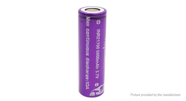 Vapcell INR 21700 3.7V 5000mAh Rechargeable Li-ion Battery