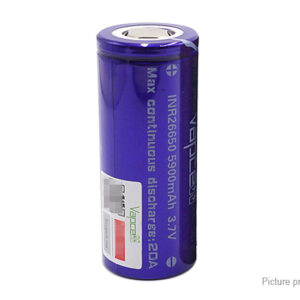 Vapcell INR 26650 3.7V 5900mAh Rechargeable Li-ion Battery