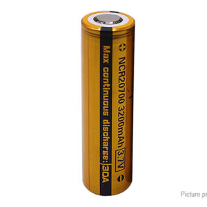 Vapcell NCR 20700 3.7V 3200mAh Rechargeable Li-ion Battery
