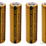 Vapcell NCR 20700 3.7V 3200mAh Rechargeable Li-ion Battery (4-Pack)