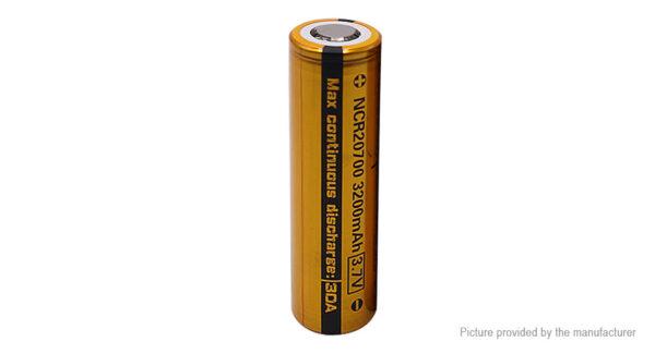 Vapcell NCR 20700 3.7V 3200mAh Rechargeable Li-ion Battery