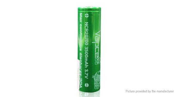 Vapcell NCR 20700 3.7V 3500mAh Rechargeable Li-ion Battery
