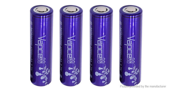 Vapcell NCR 20700 3.7V 4200mAh Rechargeable Li-ion Battery (4-Pack)
