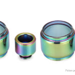 VapeSMOD Replacement Glass Tank + 510 Drip Tip for SMOK TFV8 Baby (2-Pack)