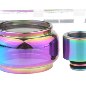 VapeSMOD Replacement Glass Tank + 510 Drip Tip for Smoktech SMOK TF2019