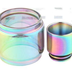 VapeSMOD Replacement Glass Tank + 810 Drip Tip for SMOK TFV12 Prince