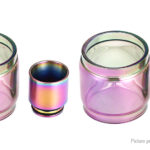 VapeSMOD Replacement Glass Tank + 810 Drip Tip for SMOK TFV8 X-Baby (2-Pack)