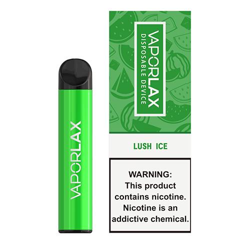 VaporLAX - Disposable Vape Device - Lush Ice - Single / 50mg