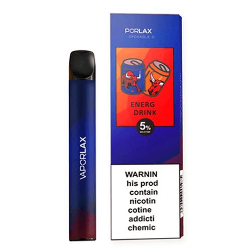 VaporLAX Mate - Disposable Vape Device - Energy Drink - Single / 50mg