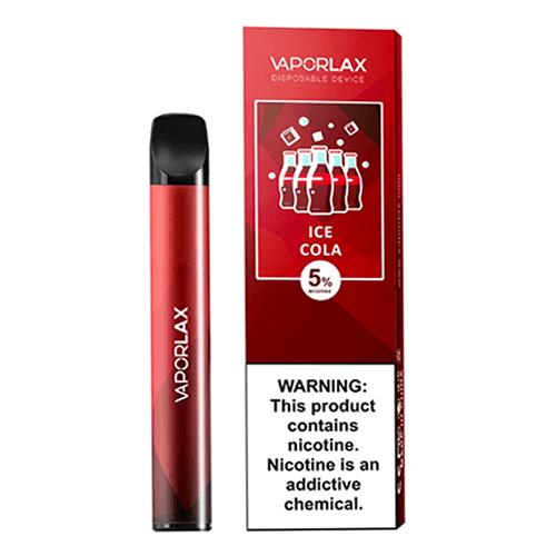 VaporLAX Mate - Disposable Vape Device - Ice Cola - Single / 50mg