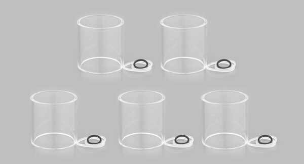 Veco One Plus Replacement Glass Tank (5-Pack)