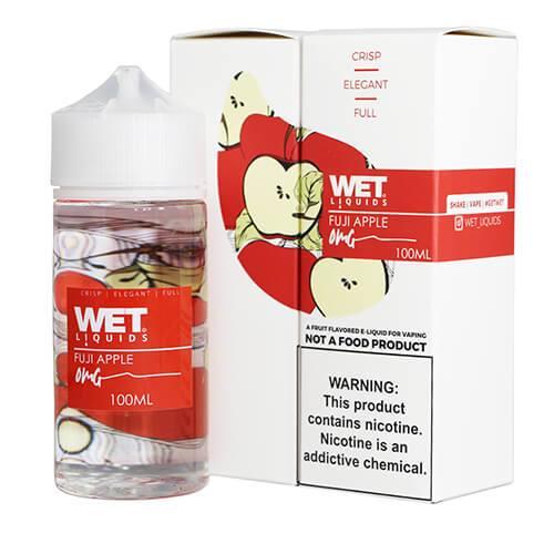Wet Liquids - Fuji Apple eJuice - 100ml / 0mg