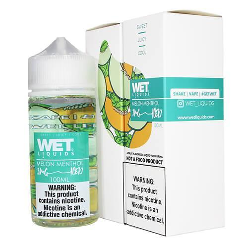 Wet Liquids ICED - Melon Menthol ICED eJuice - 100ml / 0mg