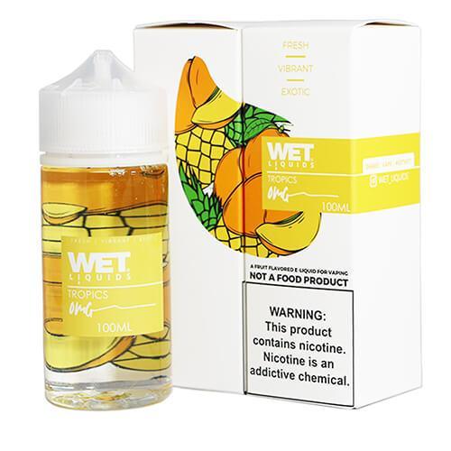 Wet Liquids - Tropics eJuice - 100ml / 0mg