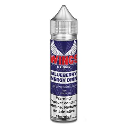Wings E-Liquid - Blueberry Energy Drink - 60ml / 0mg