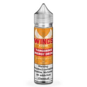Wings E-Liquid - Tangerine Energy Drink - 60ml / 0mg