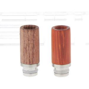 Wood + Stainless Steel 510 Drip Tip