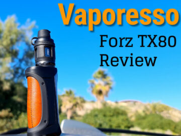 Vaporesso Forz TX80 Review featured image