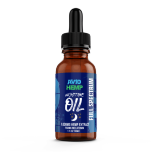CBD Nighttime Oil 1,000mg
