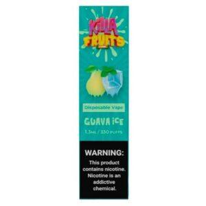 Killa Fruits - Disposable Vape Device - Guava Ice - Single