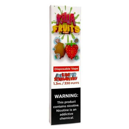 Killa Fruits - Disposable Vape Device - Kiwi Strawberry Ice - Single