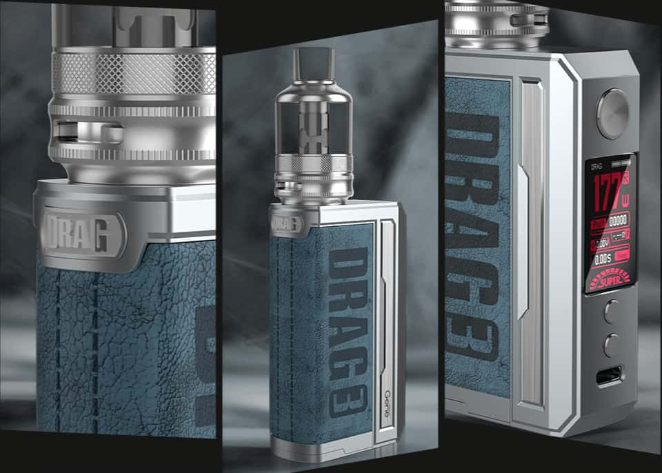 VOOPOO DRAG 3 177W Kit features image