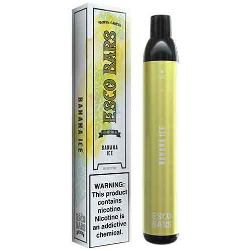 Esco Bars Mesh - Disposable Vape Device - Banana Ice - Single / 50mg