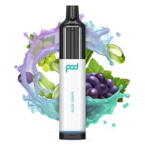 Pod 3500 by Pod Juice - Disposable Vape Device - Aloe Grape - Single / 55mg